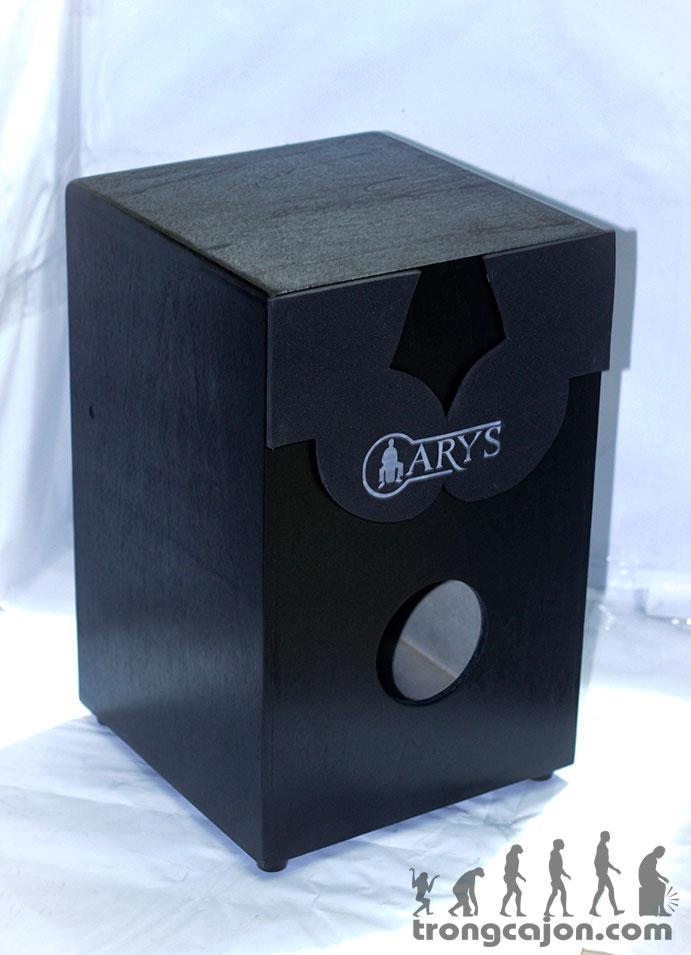 mặt sau thùng trống cajon arys pad