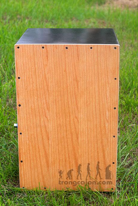 Trống Cajon CJ-85 Nút Chỉnh Âm Treb Bass 2017