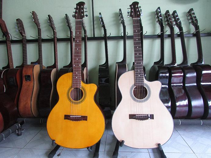 Đàn Guitar Acoustic Gỗ Hồng Đào Giá Rẻ-HD90