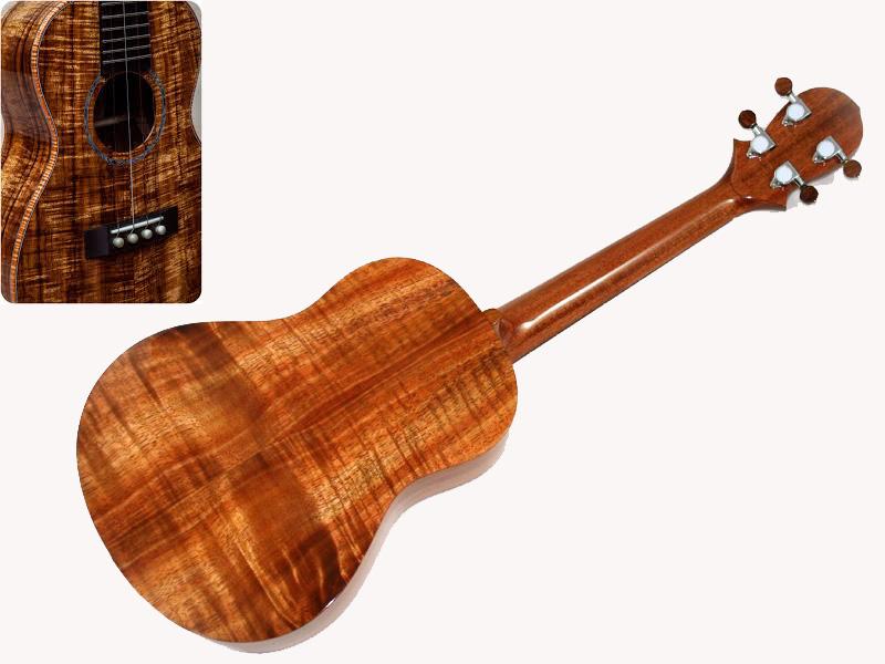 một số hình ảnh đàn ukulele gỗ koa