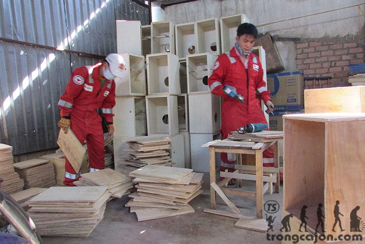 Xưởng trống cajon Trường Sa-Phong Cách Làm Việc Chuyên Nghiệp