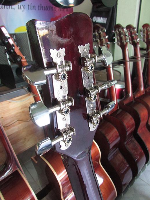 Khóa đàn guitar acoustic giá rẻ-khóa sắt
