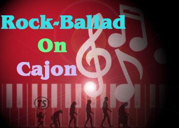 học trống cajon điệu rock ballad