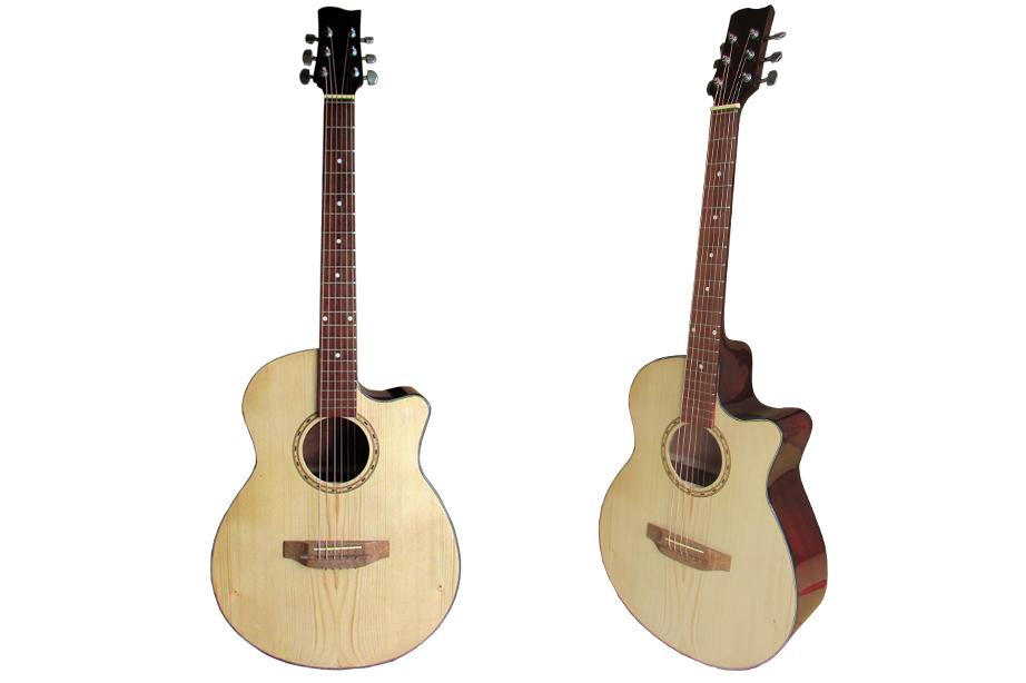 Đàn Guitar Acoustic ACM-70 (Vàng Gỗ)